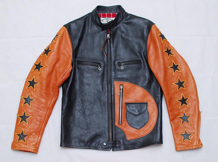 Mister Freedom Bronco Champ Leather Jacket 38