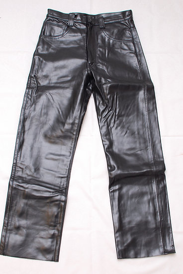 Ultra Rare!! Dead Stock!! 1990s The Real McCoys x Harley Davidson Horsehide Leat