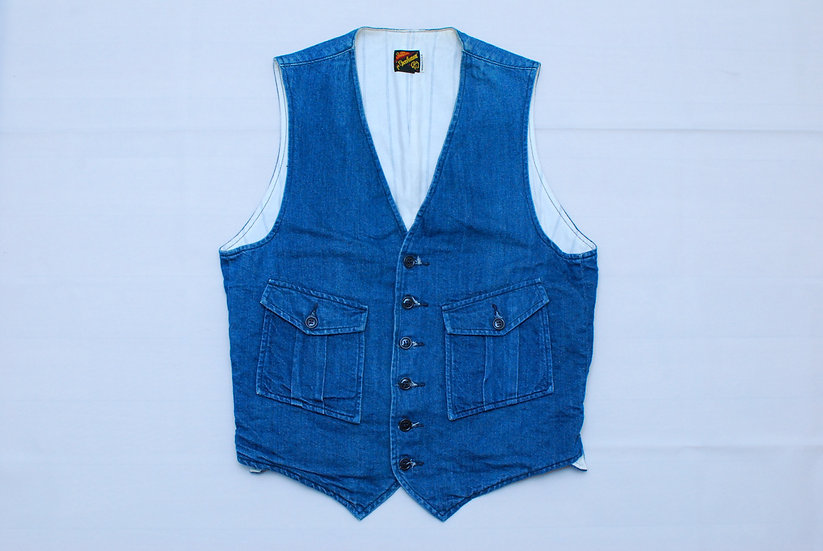 Mister Freedom Continental Vest Denim 36
