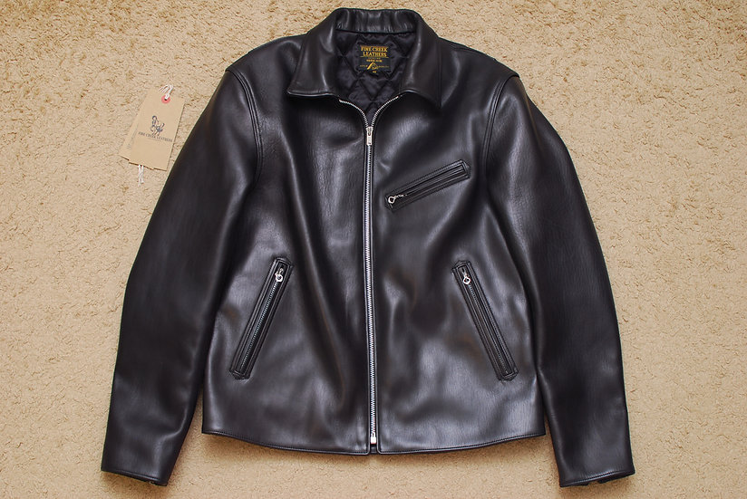 Fine Creek Leather ERIC Hose Hide Sports Rider Jacket 42
