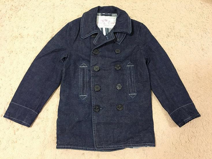 Mister Freedom Denim P-Jacket Pea Coat M