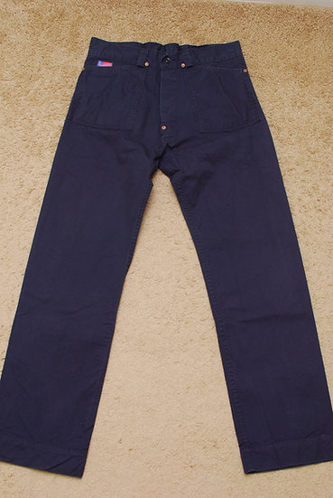 Mister Freedom Shipyard Pants Navy w32