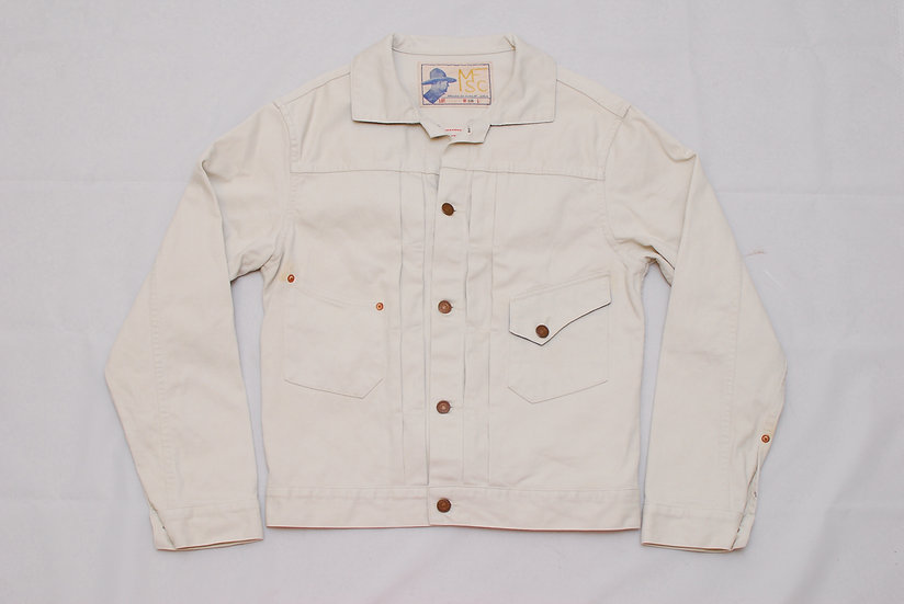 Mister Freedom Ranch Blouse Pique 38 denim jacket