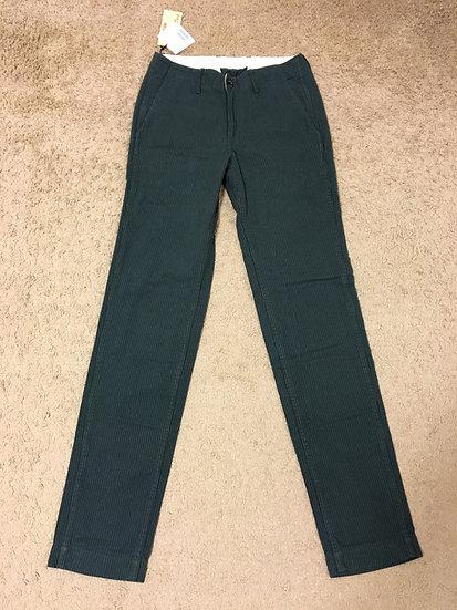 NEW!! The Flat Head Melton Cotton Low Rise Pants w32