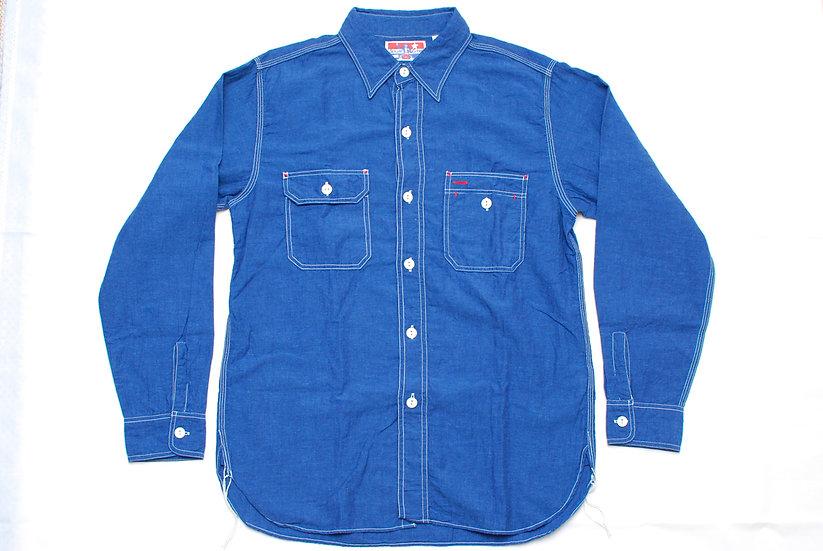 Sugar Cane Uncle Sam Shirt M 15 - 15 1/2