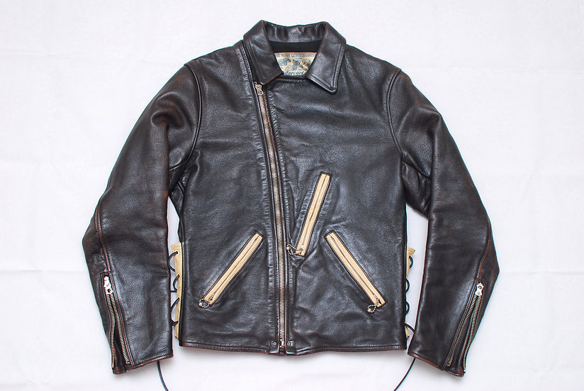The Real McCoys Joe McCoy Rider Leather Jacket 38