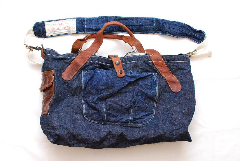 Rare!! Mister Freedom Denim Seaman Bag No1108c