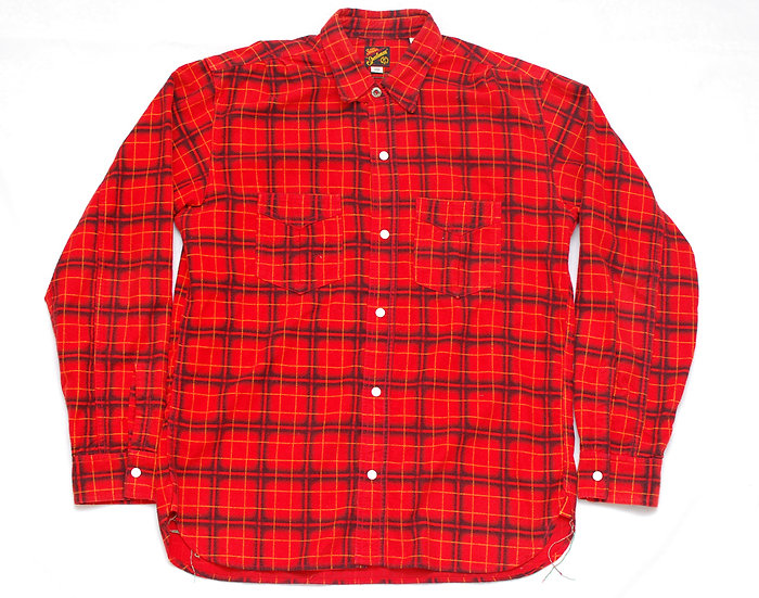 Mister Freedom Camp Flannel Shirt L 16 - 16 1/2