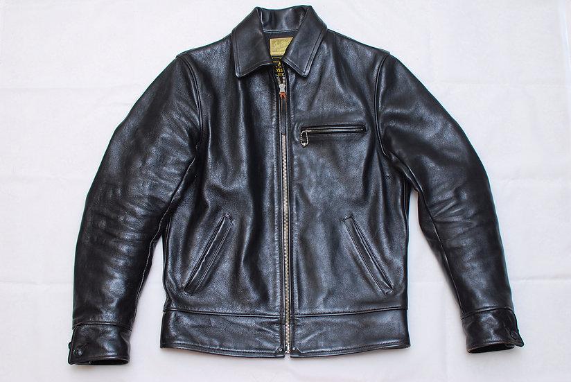 The Real McCoys Joe McCoy Leather Jacket Black 40