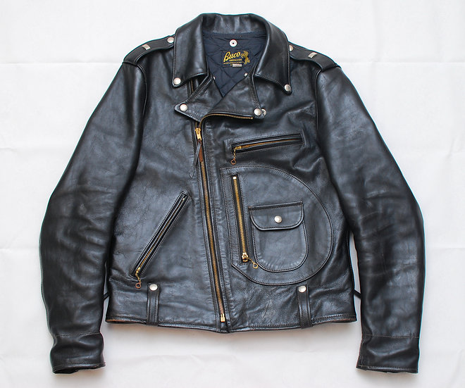The Real McCoys Buco J-24 Rider Leather Jacket 42