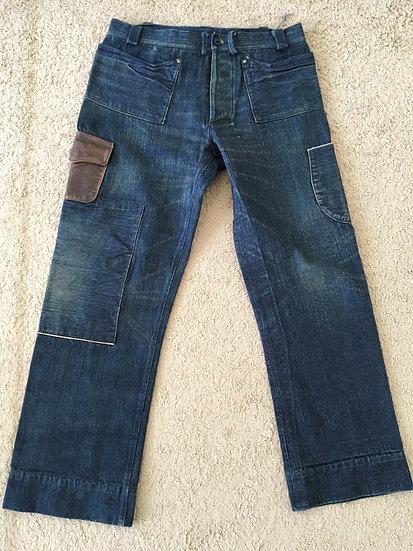 RARE!! DEAD STOCK!! NEW!! Mister Freedom 7161MD Pants Trouser w36