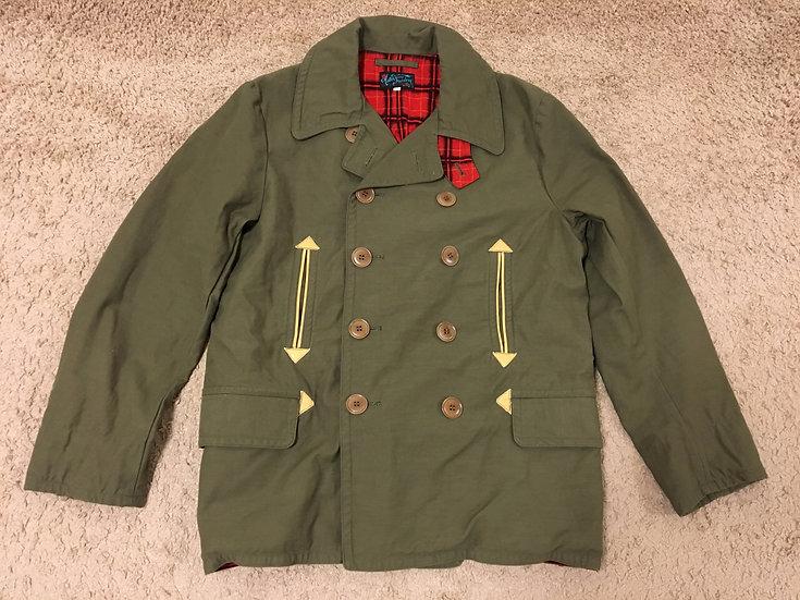 NEW!! Mister Freedom Mac Jacket Pea Coat 44