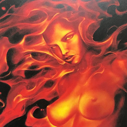 """Fire Lady"" Limited Edition Matte Print"