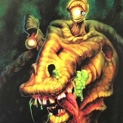"""Zombie Jar Jar"" Limited Edition Matte Print"