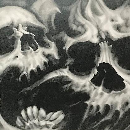 """Skull Trio"" Matte Print"