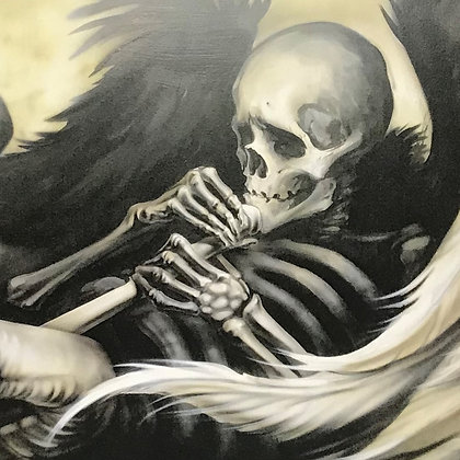 """Death Calls"" Limited Edition Matte Print"