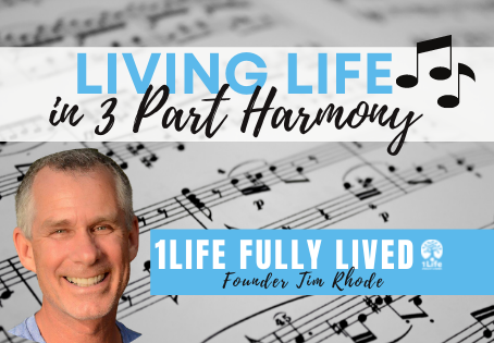 Living Life in Three Part Harmony - A Song for the Journey of Life