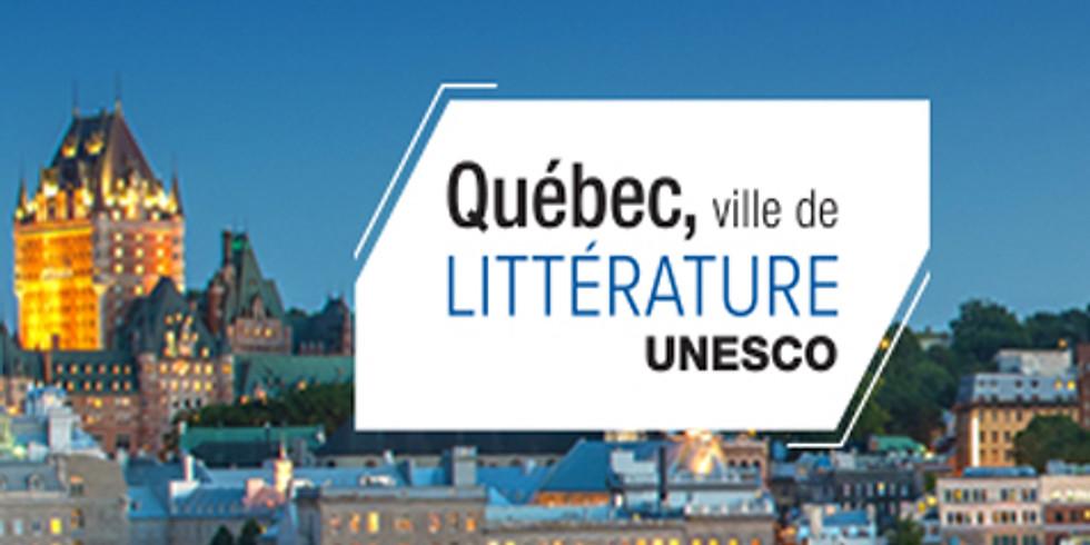 Remise du Prix création de la Ville de Québec et du Salon international du livre de Québec