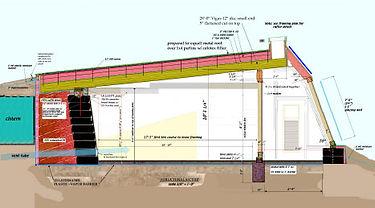 Earthship Biotecture Global Model Plan Side View