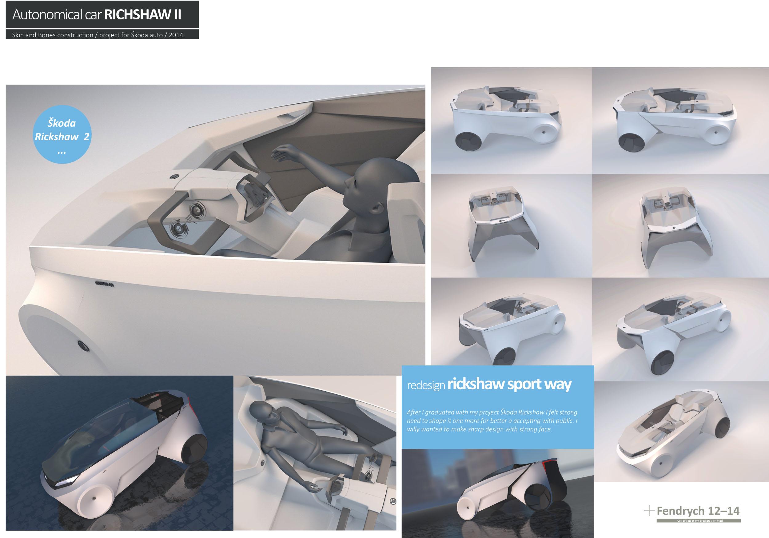 Autonomic car Richshaw