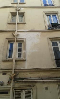 reprise façade avec moulures 2