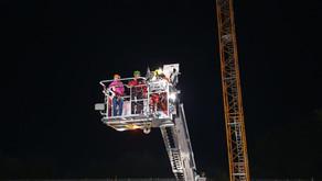 Bergrettung und Hauptfeuerwache Bad Ischl im gemeinsamen Übungseinsatz