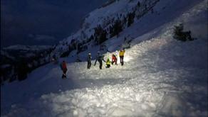 Lawine Skilehrerhang