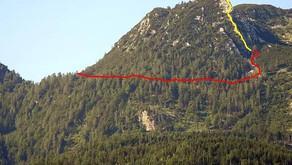 Hilfeleistung Zustieg Klettersteig