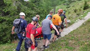 Pensionistin bei Wanderung gestürzt und schwer verletzt