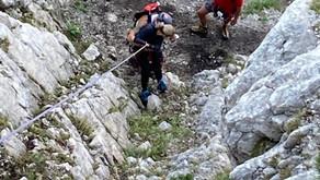 6.9.2021: Bergung aus Katrin-Klettersteig