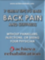FREE eBook 7 Great Tips To Ease Back Pain And Stiffness Without Painkillers, Injections or Seeing your Physician
