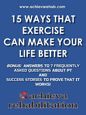 """FREE eBook """"15 Ways That Exercise Can Make Your Lfe Better"""" Plus Bonuses"""