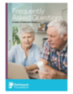 Parkinson's Foundation FAQ Book for Webs