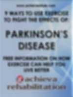 FREE eBook 9 Ways To Use Exercise To Fight The Effects Of Parkinson's Disease Free Information On How Exercise Can Hep You Live Better