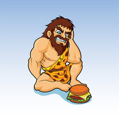 My Caveman Theories...That Geico Guy is Healthy!
