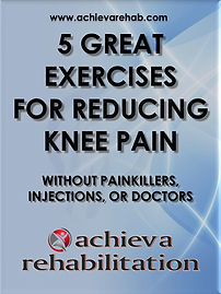 FREE eBook 5 Great Exercises For Reducing Knee Pain Without Painkillers, Injections, or Doctors