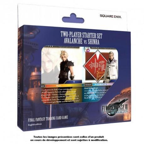 Final Fantasy - 2 Player Starter Set FF VII Avalanche VS Shinra