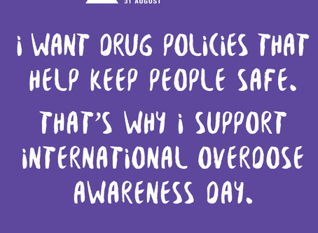 Today is International Overdose Awareness Day. Help spread the word.