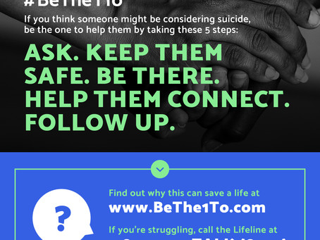 Here's what to say (and do) when talking to someone about suicide