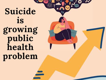 Suicide statistics show a growing public health problem