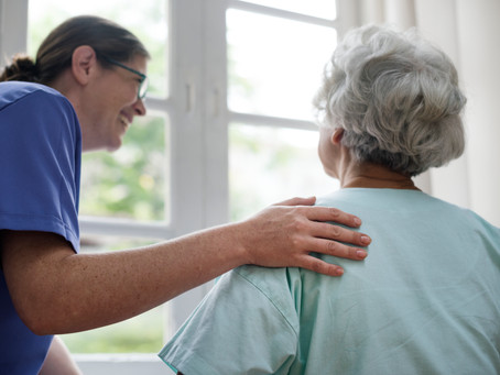 Teaching caregivers to care for themselves