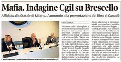 Indagine Cgil su Brescello