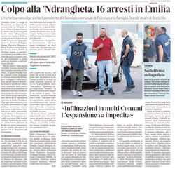 16 arresti in Emilia