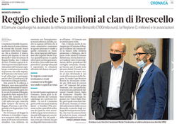Reggio chiede 5 milioni al clan