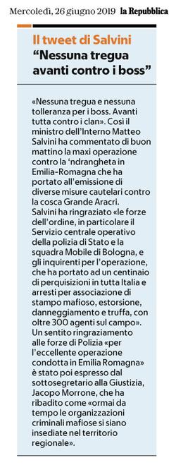Salvini e i tweet