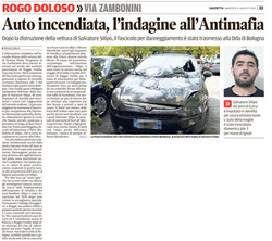 L'indagine all'Antimafia
