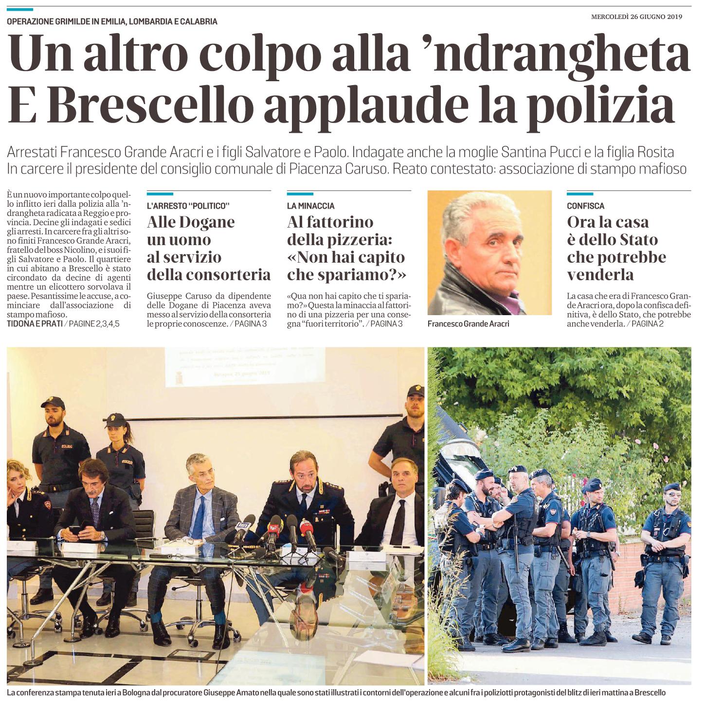 Un altro colpo alla 'Ndrangheta