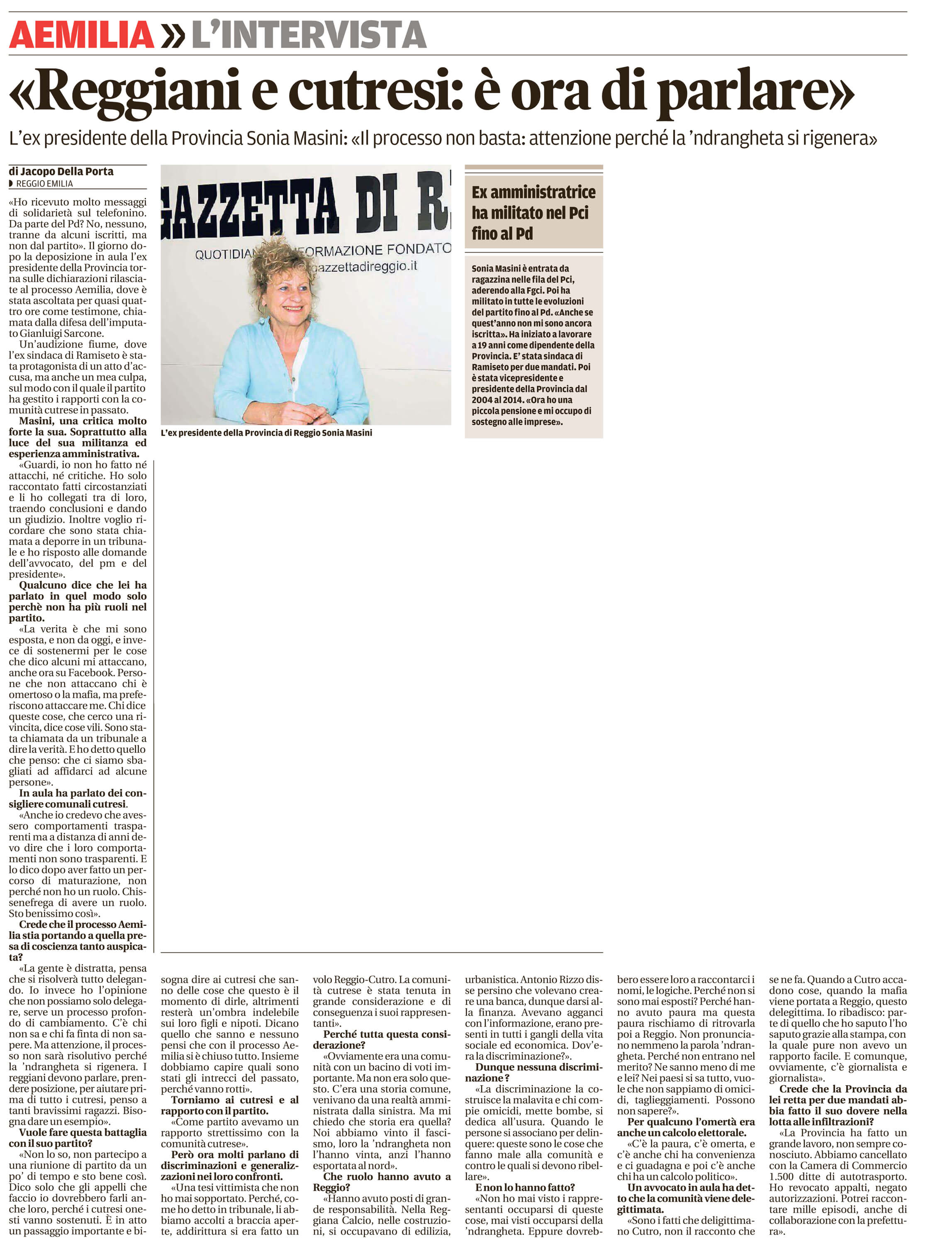 """""""Reggiani/cutresi: è ora di parlare"""""""