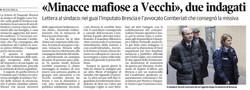 Minacce mafiose