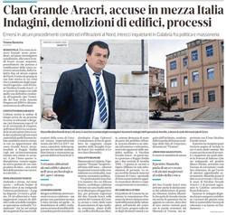 Accuse in mezza Italia